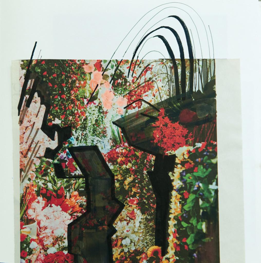 o.T. # 20, 29 x 29 cm, Papier und Stift auf Papier