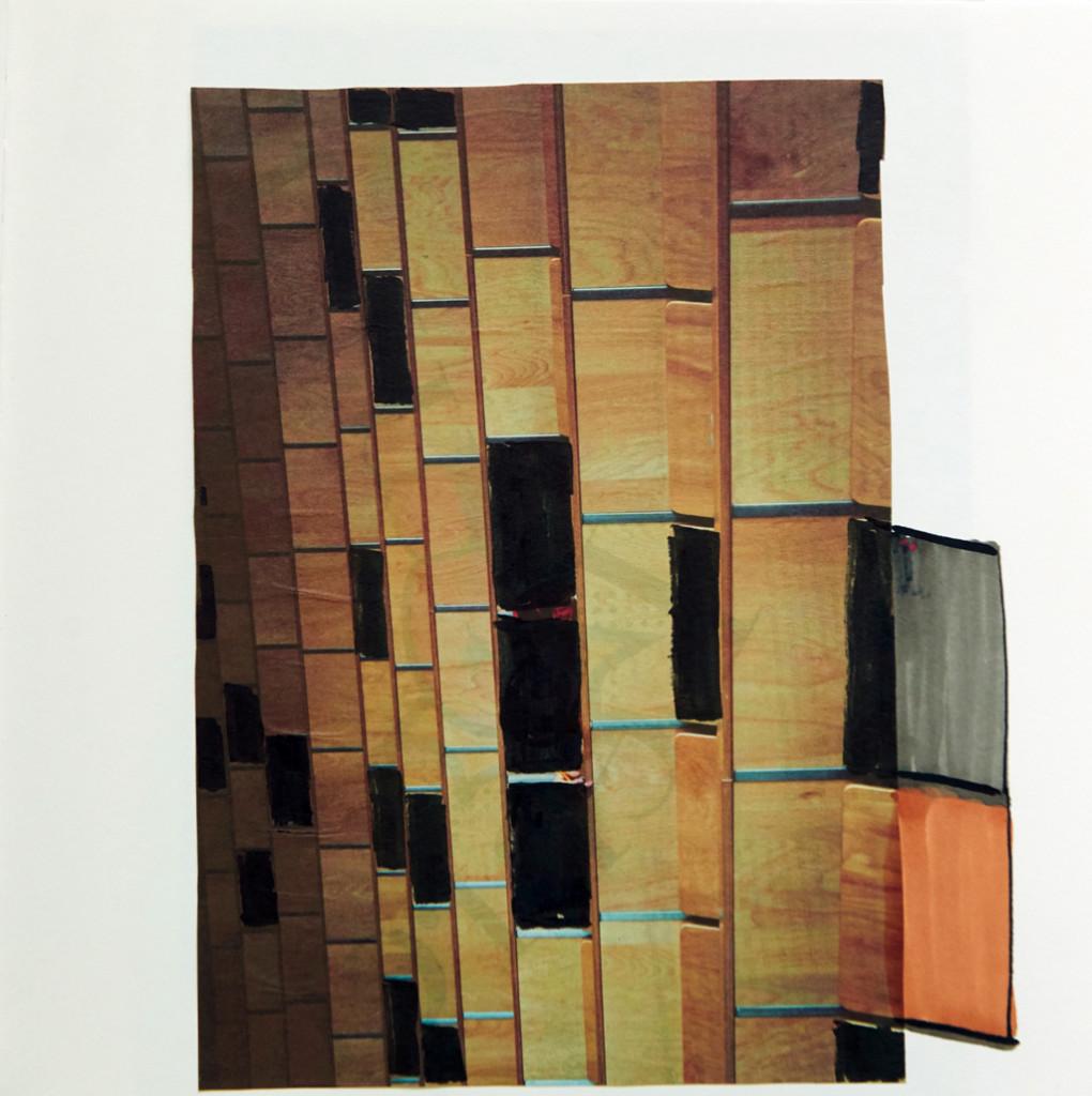 o.T. # 22, 29 x 29 cm, Papier und Marker auf Papier
