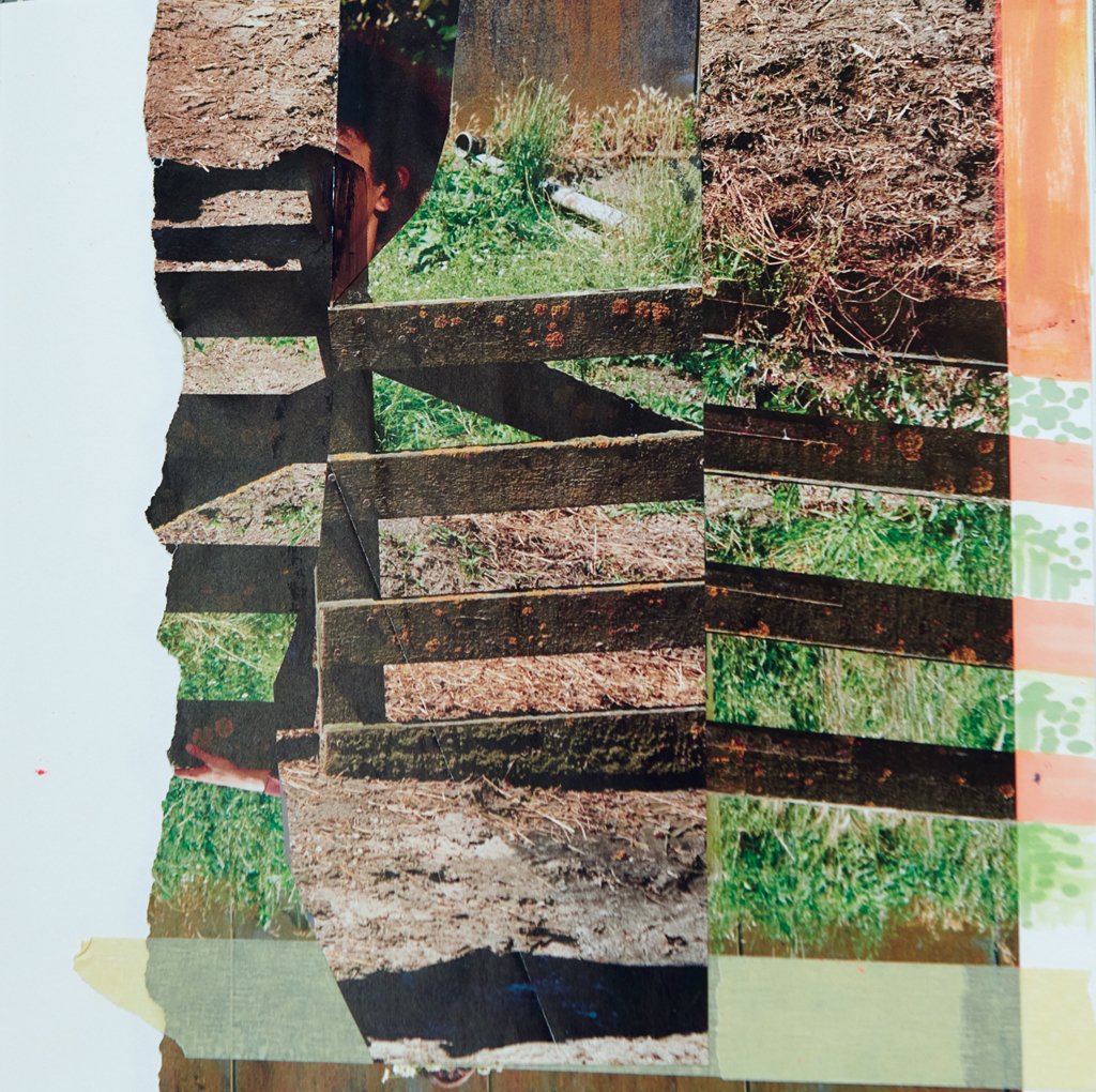 o.T. # 30, 29 x 29 cm, Papier und Tuschestift auf Papier