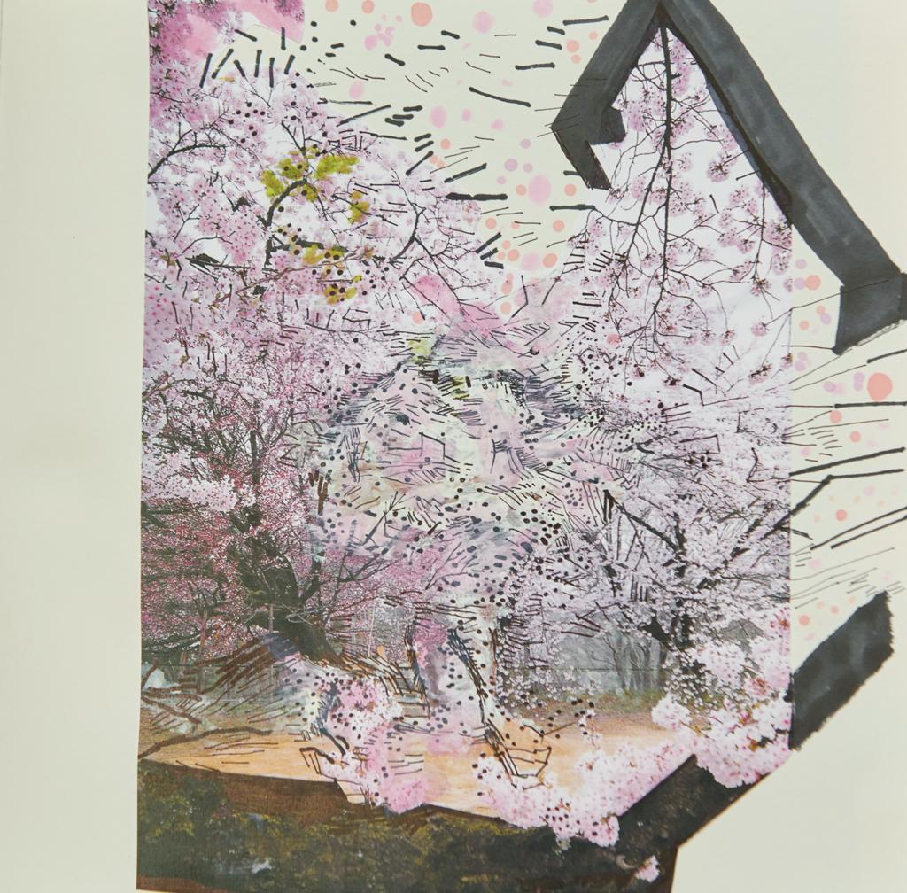 o.T. # 31, 29 x 29 cm, Papier und Stift auf Papier