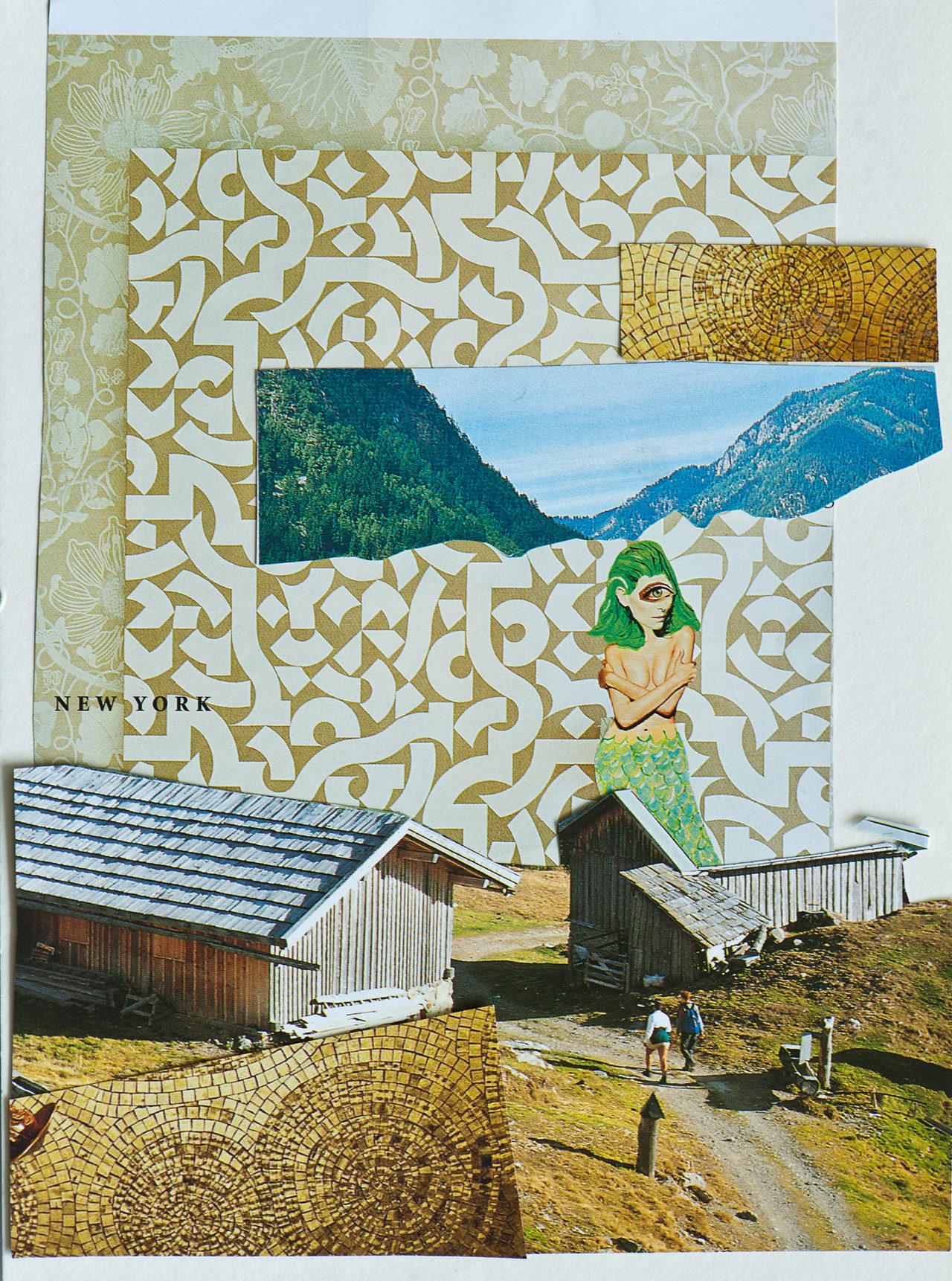 o.T. # 1, 2012, 21 x 15cm, Papier auf Papier