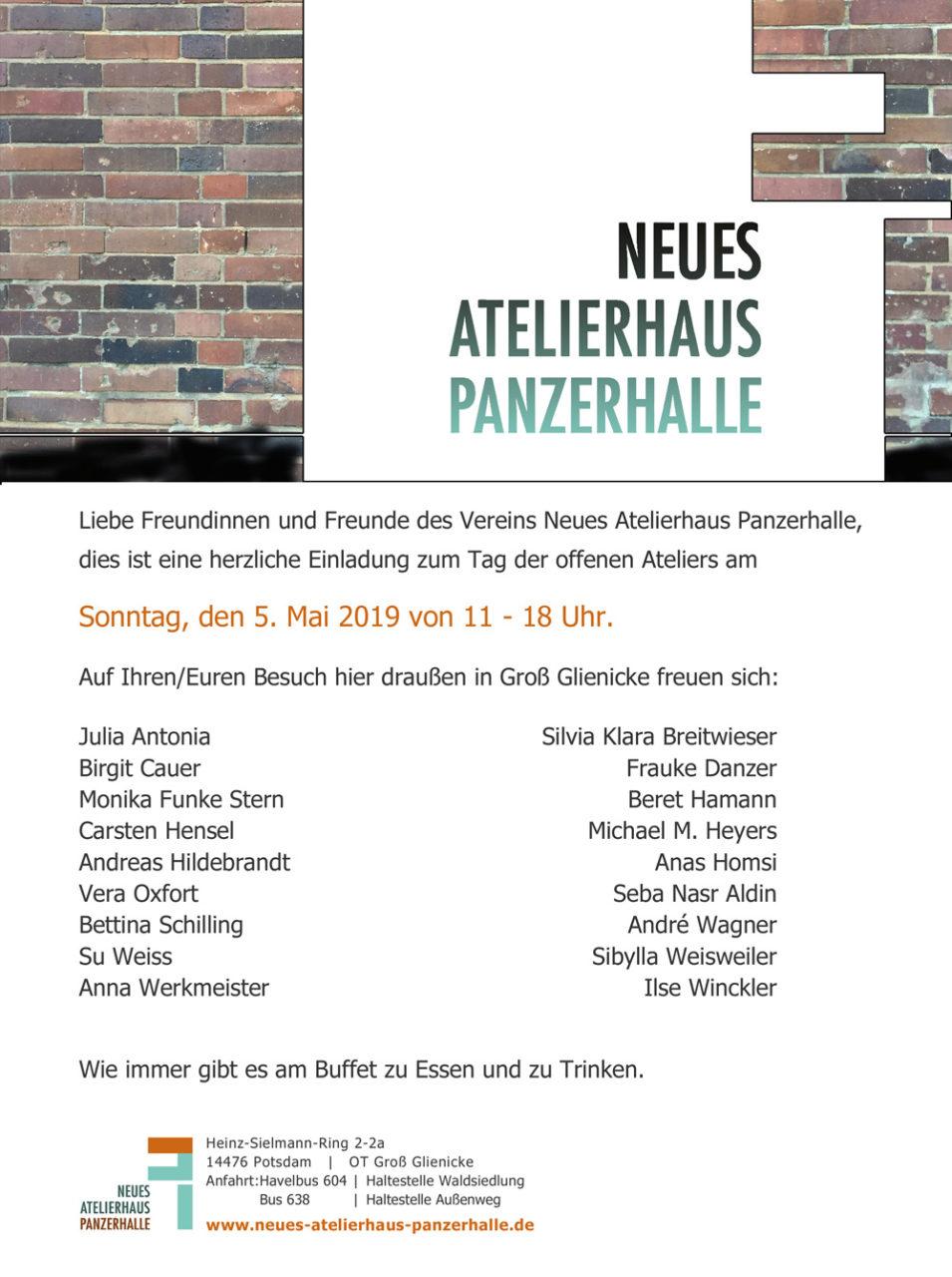 Offene Ateliers, 5.5.2019