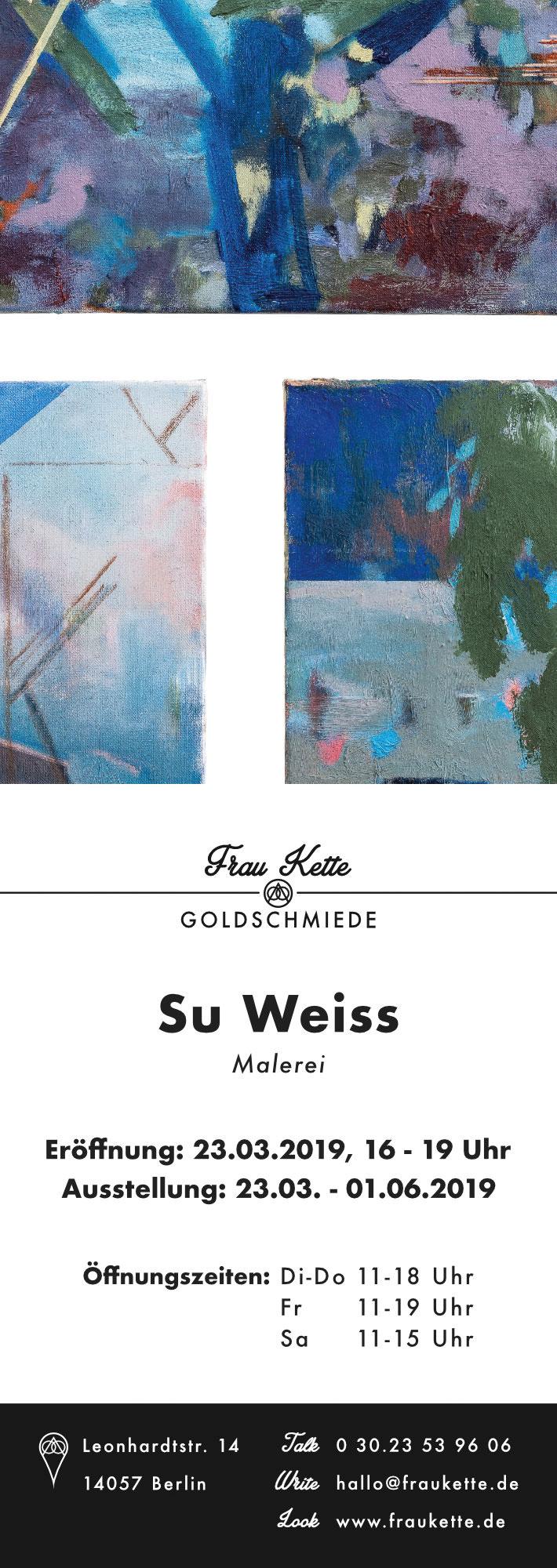 Ausstellungseröffnung 23.03.2019 bei Frau Kette