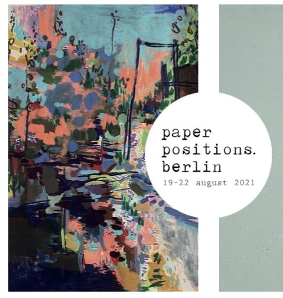 paper positions.berlin, 19.-22.8.2021, Su Weiss und Susanne Ramolla mit Galerie Schindler, Potsdam